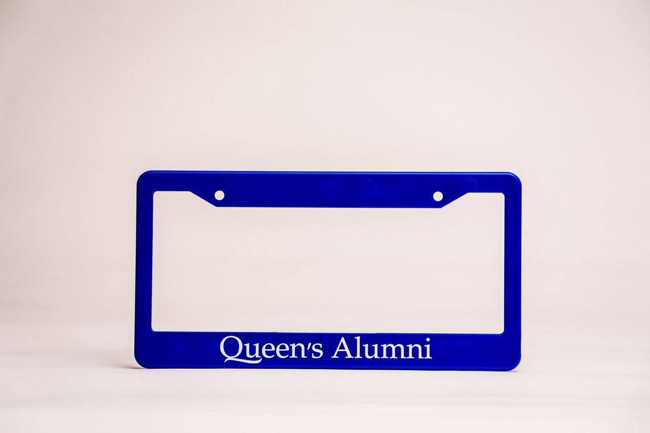 Queen's Alumni License Plate Frame image