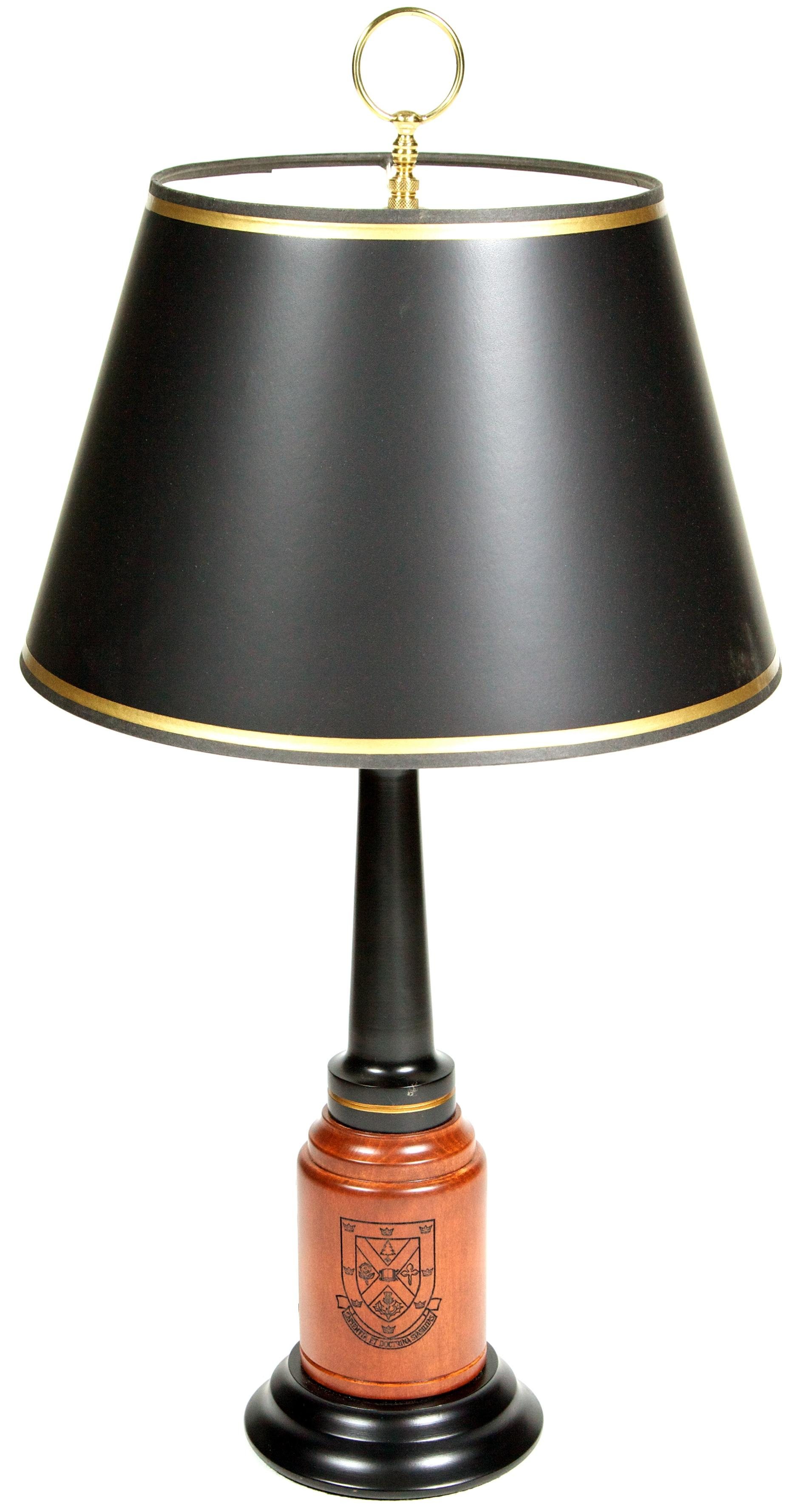 Solid Maple Queen's University Heritage Lamp image