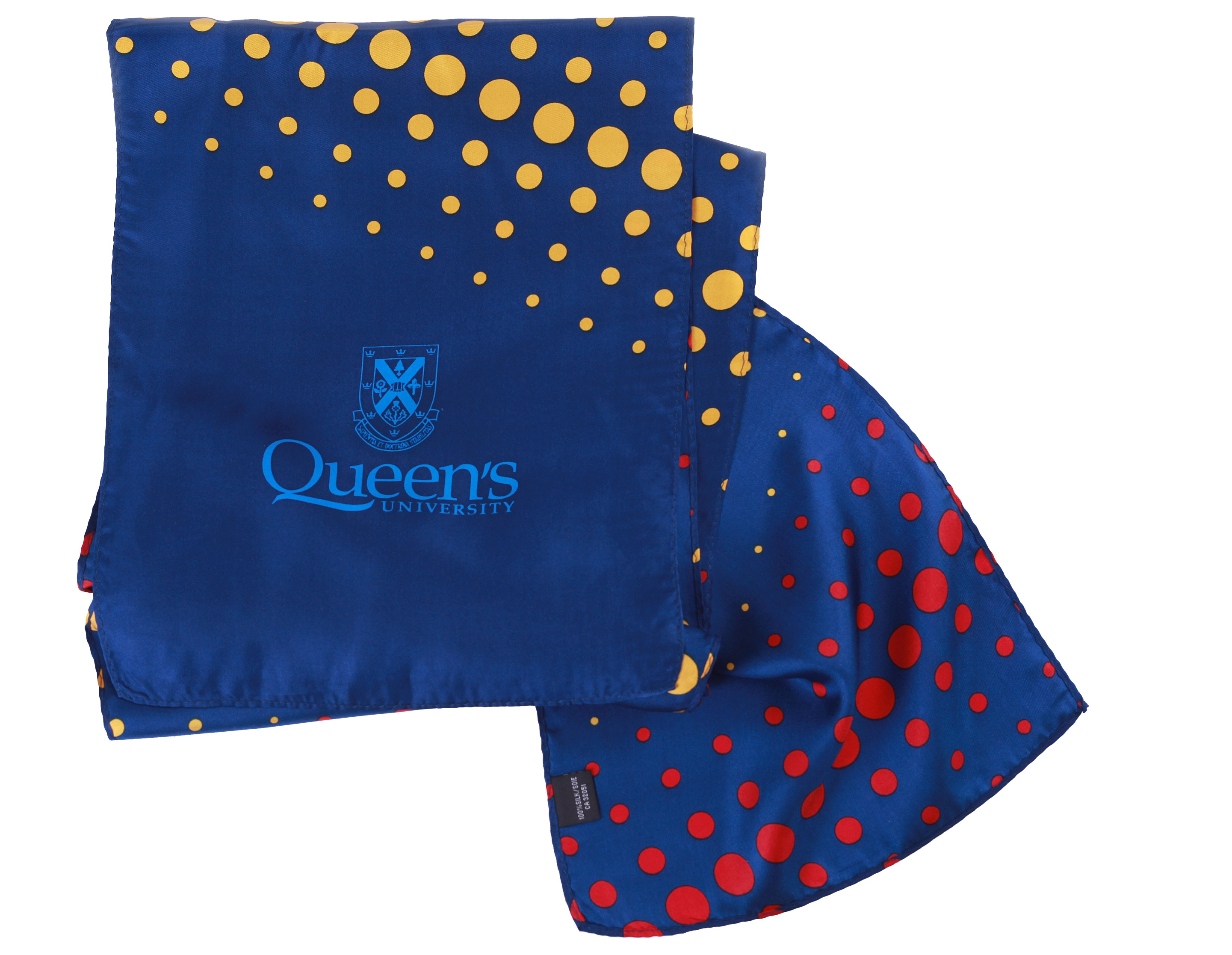 Queen's Dotted Lady's Scarf image