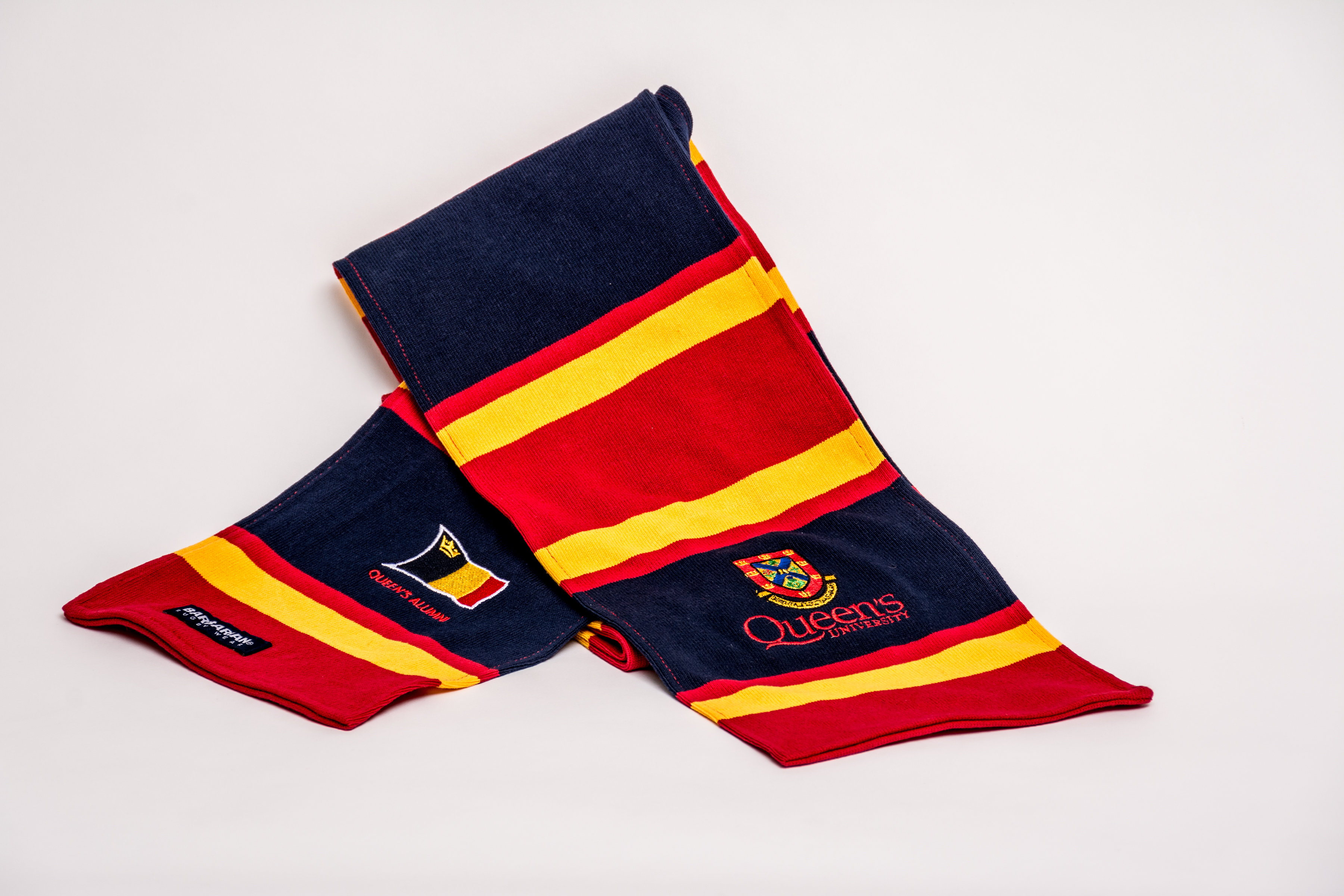 NEW! - Queen's Tricolour Rugby Scarf image