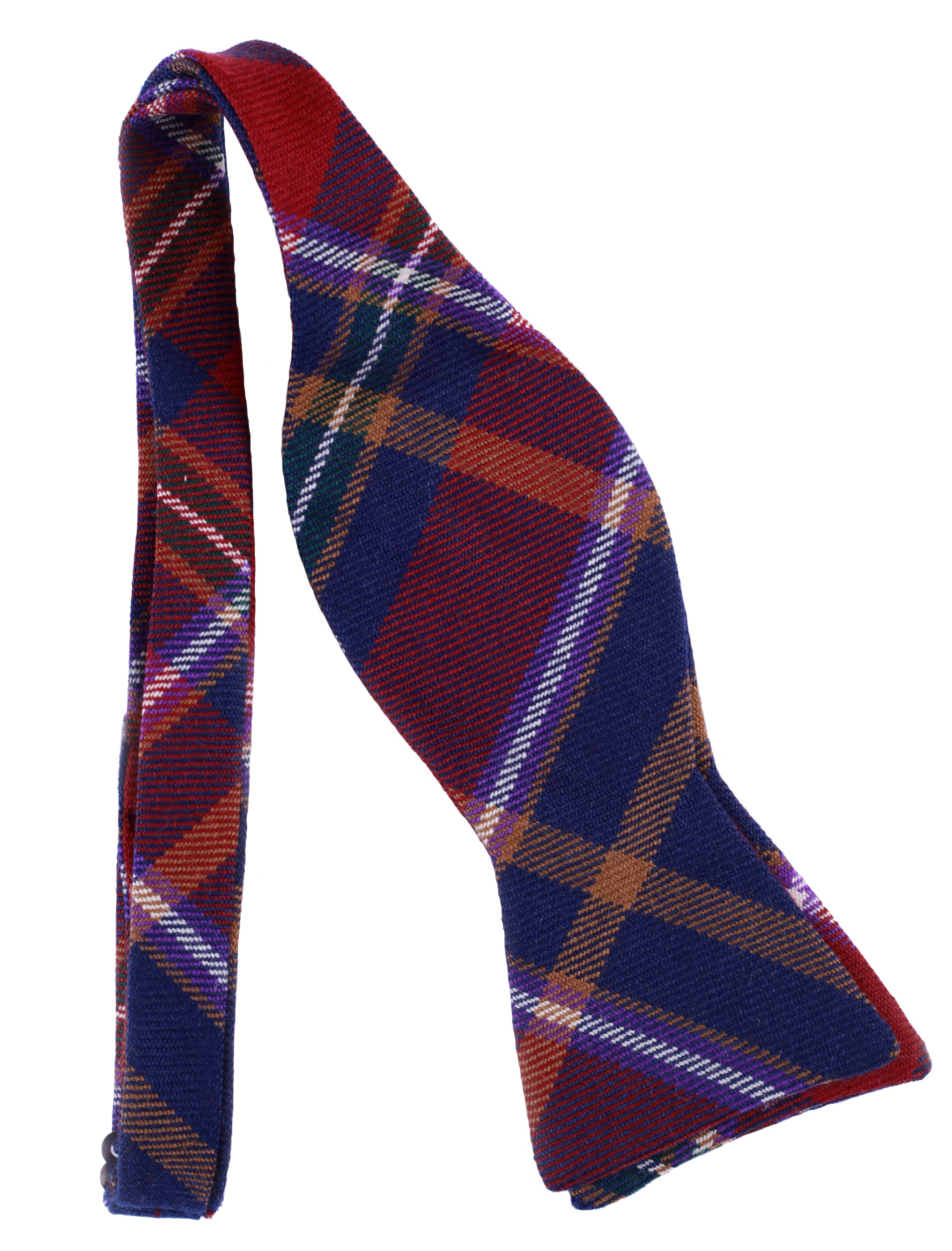 Queen's Tartan Bowtie (Self-Tying) image