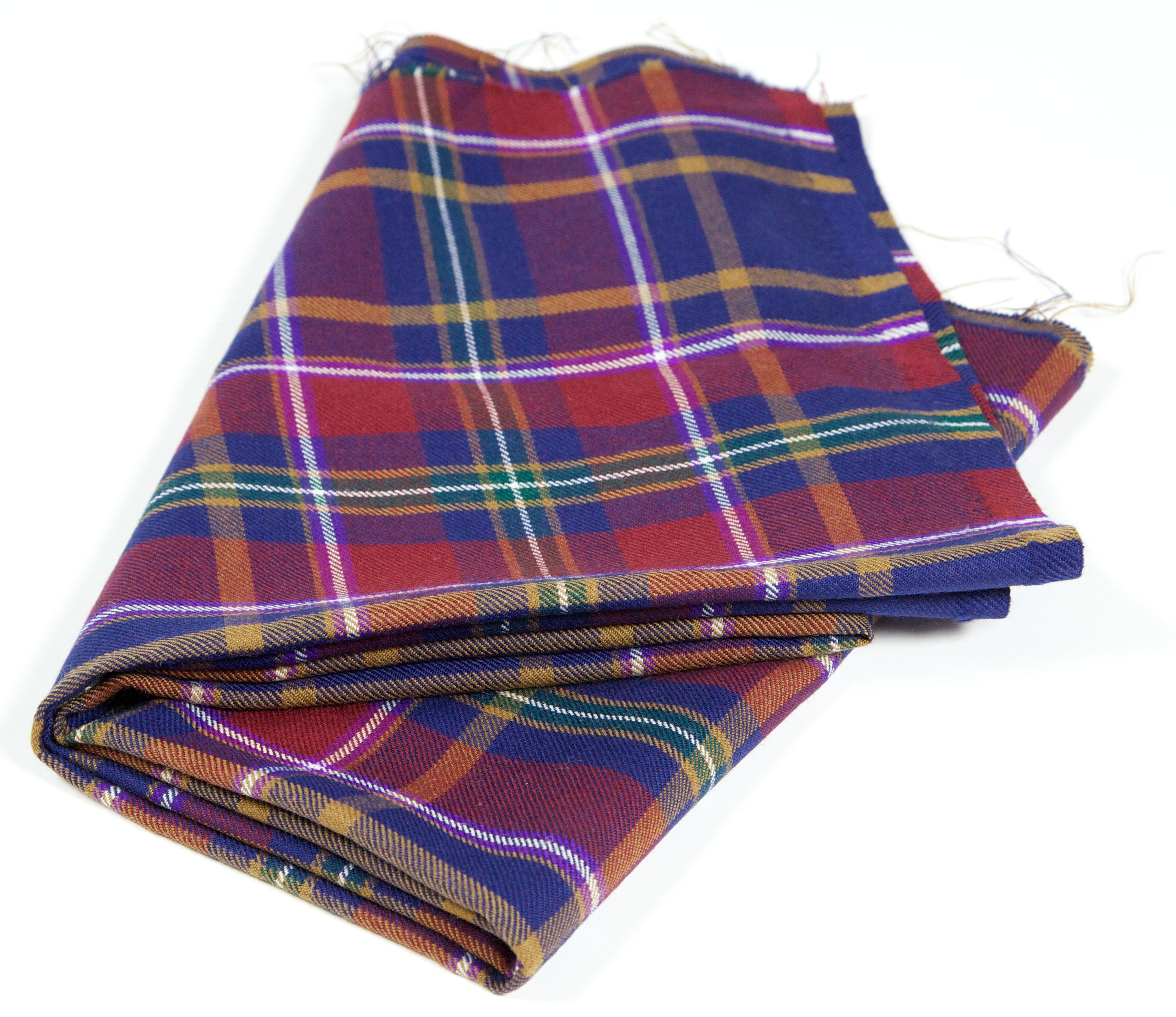 Queen's Tartan Fabric image