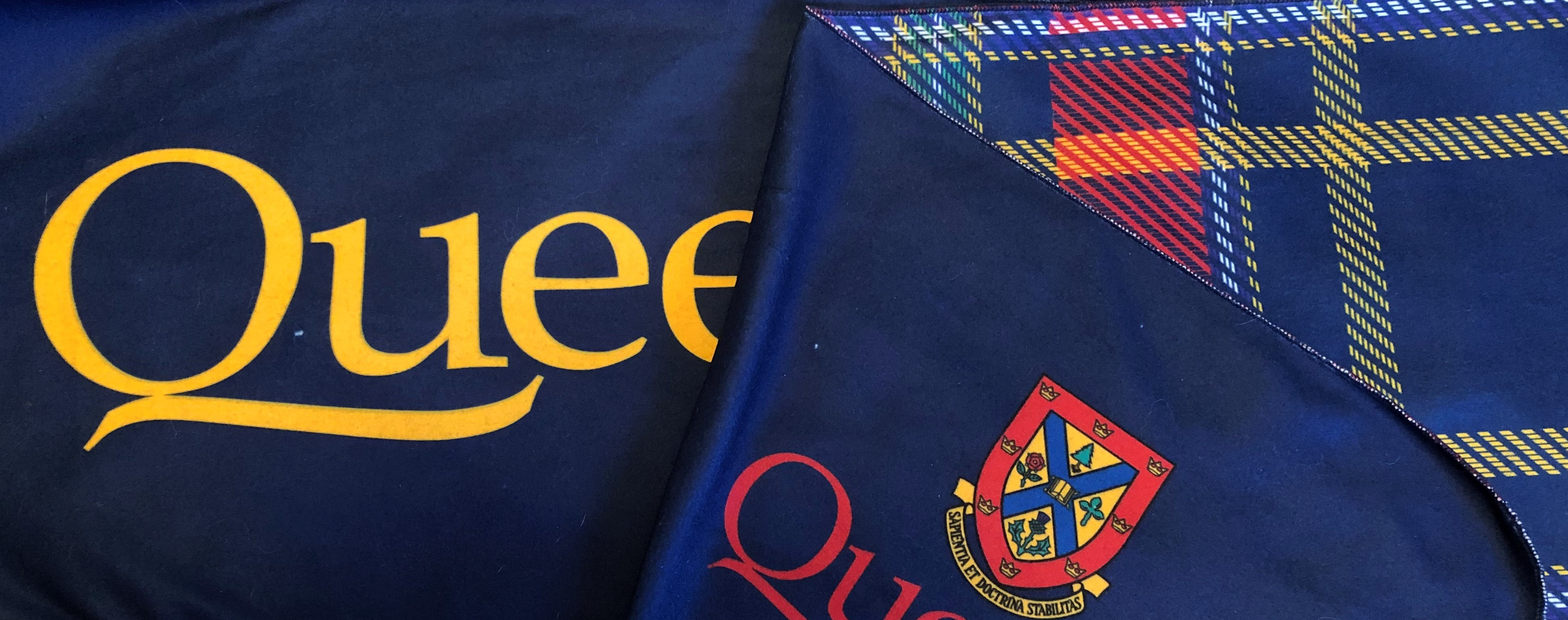 Queen's Microfibre Plaid Scarf image